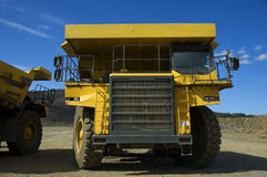 Rigid Dumper. S, used in coal mine open cast Stock Image