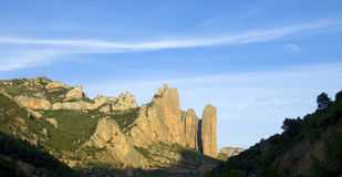 Riglos Royalty Free Stock Photos