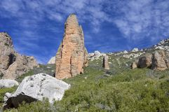 Riglos Royalty Free Stock Images