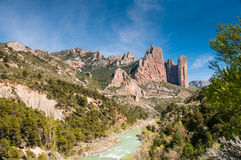 Riglos and Gallego Stock Photography