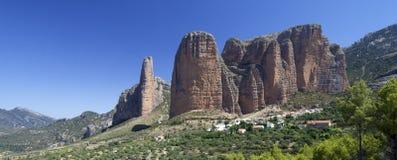 Riglos landscape Stock Images