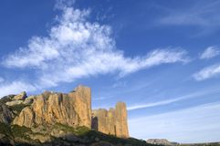 Riglos landscape Stock Photos