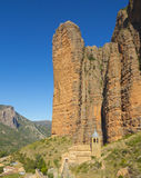 Riglos Mallos are located in the town of Riglos, in the province of Huesca. Riglos Mallos are located in the town of Riglos, in the province of Huesca (Spain Stock Photos