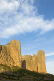 Riglos Mountains Royalty Free Stock Images