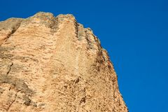 Riglos Mountains in Spain Royalty Free Stock Photos