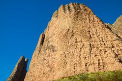 Riglos Mountains in Spain Stock Images