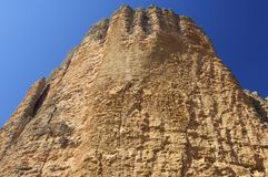 Riglos. Rock spires known as Mallos de Riglos, Huesca, Aragon, Spain Royalty Free Stock Images