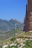 Riglos. Rock spires known as Mallos de Riglos, Huesca, Aragon, Spain Royalty Free Stock Photography