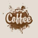 Rigns do café ilustração do vetor