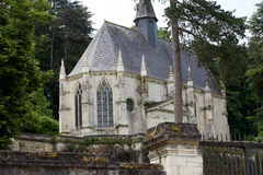 Rigny-Usse - Chapel of castle Royalty Free Stock Images