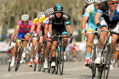 Rigoberto Uran van Hemel Procycling Royalty-vrije Stock Foto