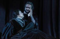 Rigoletto opera fotografering för bildbyråer