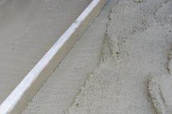Rigone для того чтобы приглаживать бетон Стоковая Фотография RF