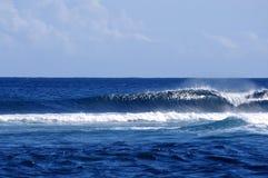 Rigonfiamento dell'oceano Fotografie Stock