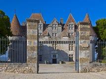rigord för monbazillac p för chateaude france Arkivfoton