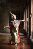 RIGOROSAMENTE DANCING DI KHON Immagine Stock