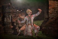 RIGOROSAMENTE DANCING DI KHON Fotografie Stock Libere da Diritti