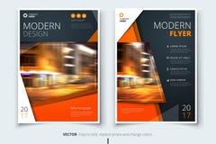 Riguardi la progettazione per l'opuscolo, l'aletta di filatoio, il rapporto, il catalogo, la presentazione, manifesto Modello mod illustrazione vettoriale