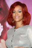 Rihanna. At the Reb'l Fleur by  Perfume Launch, Macy's, Lakewood, CA. 02-18-11 stock image