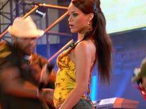 Rihanna im Jahre 2006 Lizenzfreies Stockbild