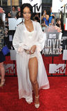 Rihanna. LOS ANGELES, CA - APRIL 13, 2014: Rihanna at the 2014 MTV Movie Awards at the Nokia Theatre LA Live Royalty Free Stock Image