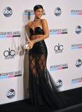Rihanna. LOS ANGELES, CA - NOVEMBER 24, 2013: Rihanna in the pressroom at the 2013 American Music Awards at the Nokia Theatre, LA Live Stock Images