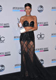 Rihanna. In the pressroom at the 2013 American Music Awards at the Nokia Theatre, LA Live. November 24, 2013  Los Angeles, CA Picture: Paul Smith / Featureflash Stock Image