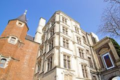 Rihour Palace. Lille (Northern France) Stock Photo