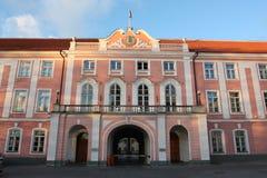 The Riigikogu - Estonian Parliament Building Royalty Free Stock Image