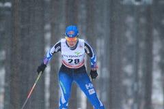 Riitta-Liisa Roponen - esqui do corta-mato Imagens de Stock