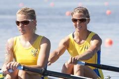 RIJ: De Europese het Roeien Kampioenschappen Royalty-vrije Stock Fotografie