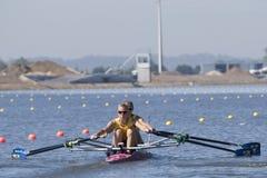 RIJ: De Europese het Roeien Kampioenschappen Royalty-vrije Stock Foto