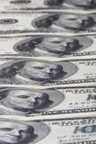 Rij van dollars Royalty-vrije Stock Afbeelding