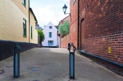 Rij van Georgische Rijtjeshuizen in Bury St Edmunds, het UK Royalty-vrije Stock Fotografie