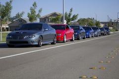Rij van GTOs Stock Foto