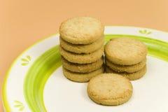 Rij van koekjes Royalty-vrije Stock Afbeeldingen