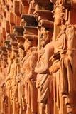 Rij van standbeelden no.2 Royalty-vrije Stock Fotografie