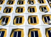 Rij van vensters Royalty-vrije Stock Afbeelding