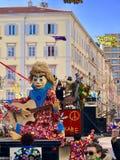 Rijeka καρναβάλι Κροατία 2018 στοκ φωτογραφία με δικαίωμα ελεύθερης χρήσης