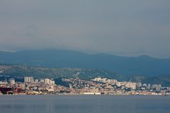 Rijeka stock photo