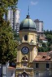 Rijeka barockt stadstorn för Kroatien Royaltyfri Bild