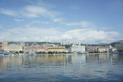 Rijeka coast Stock Image