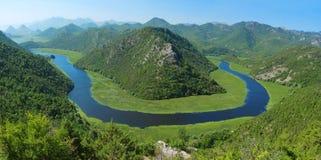 Rijeka Crnojevica Obrazy Stock