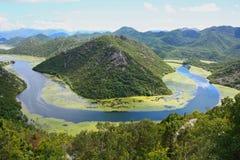 Rijeka Crnojevica Fotos de archivo