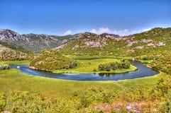 Rijeka Crnojevica fotografia stock libera da diritti