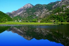Rijeka Crnojevica Imagens de Stock Royalty Free