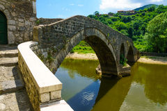 Rijeka Crnojevica Bridge Stock Image