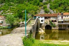 Rijeka Crnojevica Bridge Stock Photo