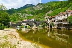 Rijeka Crnojevica Bridge royalty free stock photography