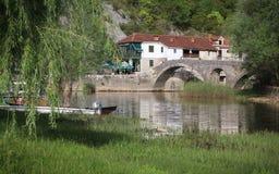 Rijeka Crnojevica stock image